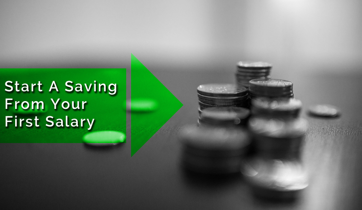 start saving from your first salary